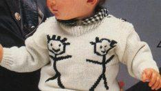 Değişik El Örgüsü Erkek Çocuk Kazakları