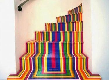 Merdivenlerinizi Kendiniz Dekore Edin