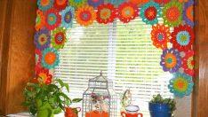 Renkli Mutfak Perdesi Örnekleri