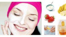 Sivilceli ve Yağlı Ciltler için Maske Tarifi