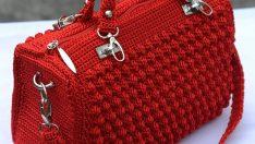 Tığ İşi Çanta Modelleri