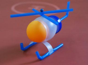 Pet Şişeden Helikopter Yapımı