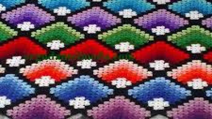 Tığ İşi Battaniye Modelleri