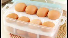 Yumurtanın Buzdolabına Konulmadan Önce Yıkanması Sakıncalı mıdır?
