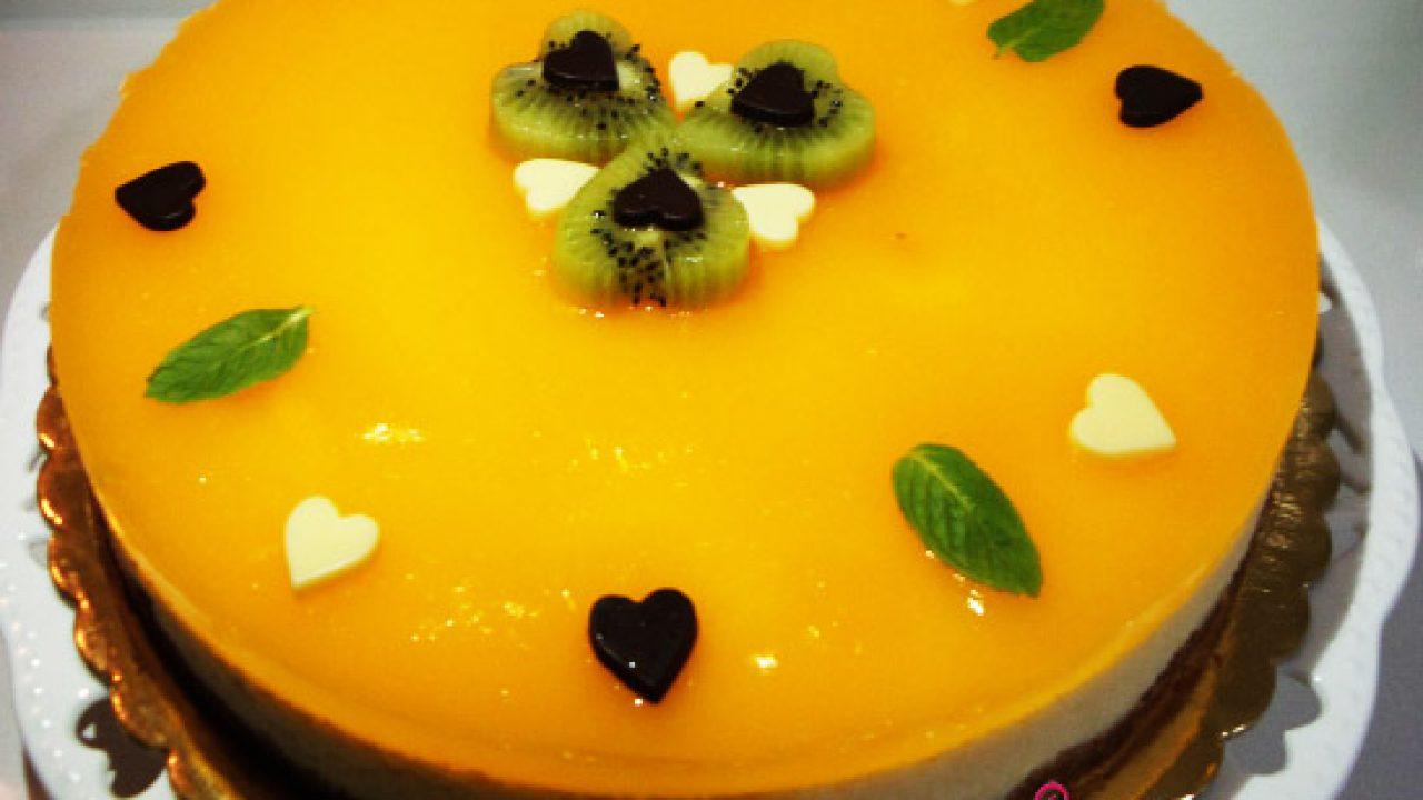 Portakallı Cheesecake Tarifi