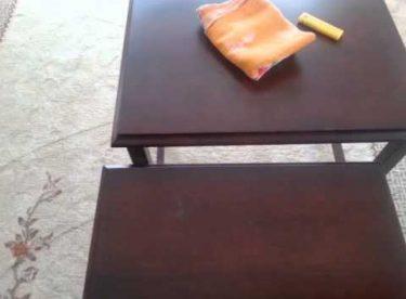 Mobilyalardaki Yapıştırıcıyı Çıkarma Yöntemleri