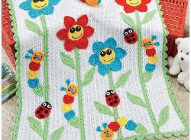 Örgü Çocuk Battaniyeleri