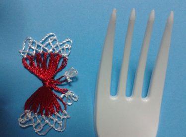 Plastik Çatalla İğne Oyası Nasıl Yapılır?