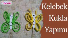 Kelebek Kukla Yapımı – Kendin Yap – DIY – Okul Öncesi Fikirler