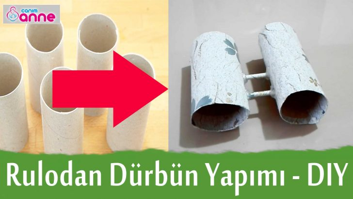Rulodan Dürbün Yapımı – Kendin Yap – DIY