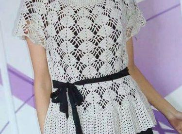 2017 Yazlık Bayan Örgü Bluz Modelleri