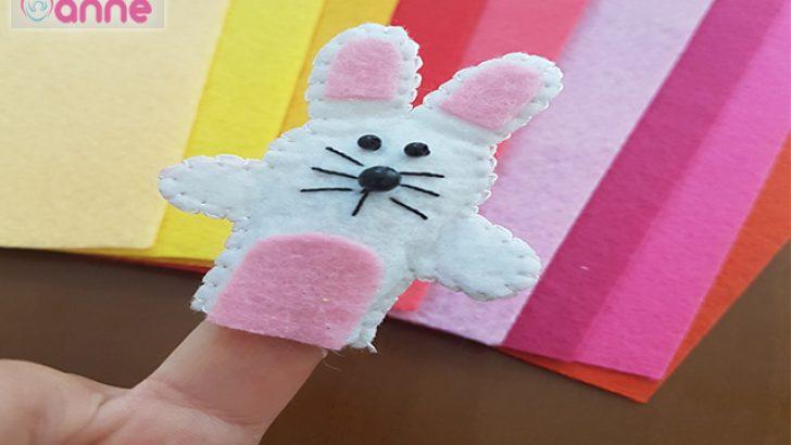 Tavşan Parmak Kukla Yapımı – Kendin Yap -DIY