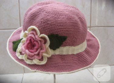 Bebek şapkası yapımı