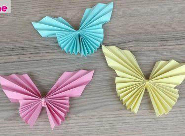Kağıttan Kelebek Yapımı – Kendin Yap – DIY