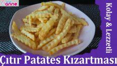 Kolay Çıtır Patates Kızartması