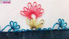 İğne Oyası Çiçek Modeli (Motifi) Yapımı