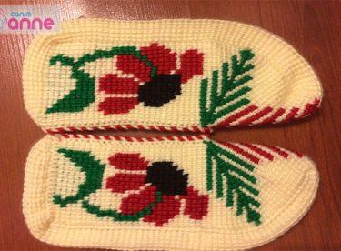Ayçiçeği Tunus İşi Patik Modeli Yapımı