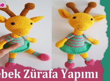 Amigurumi Bebek Gövdesi : Amigurumi bebek zürafa yapımı canım anne