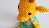Amigurumi Zürafa Yapımı : Amigurumi bebek zürafa yapımı canım anne