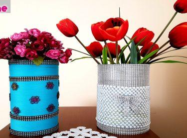 Evde Kırılmaz Vazo Yapımı – Kendin Yap – DIY