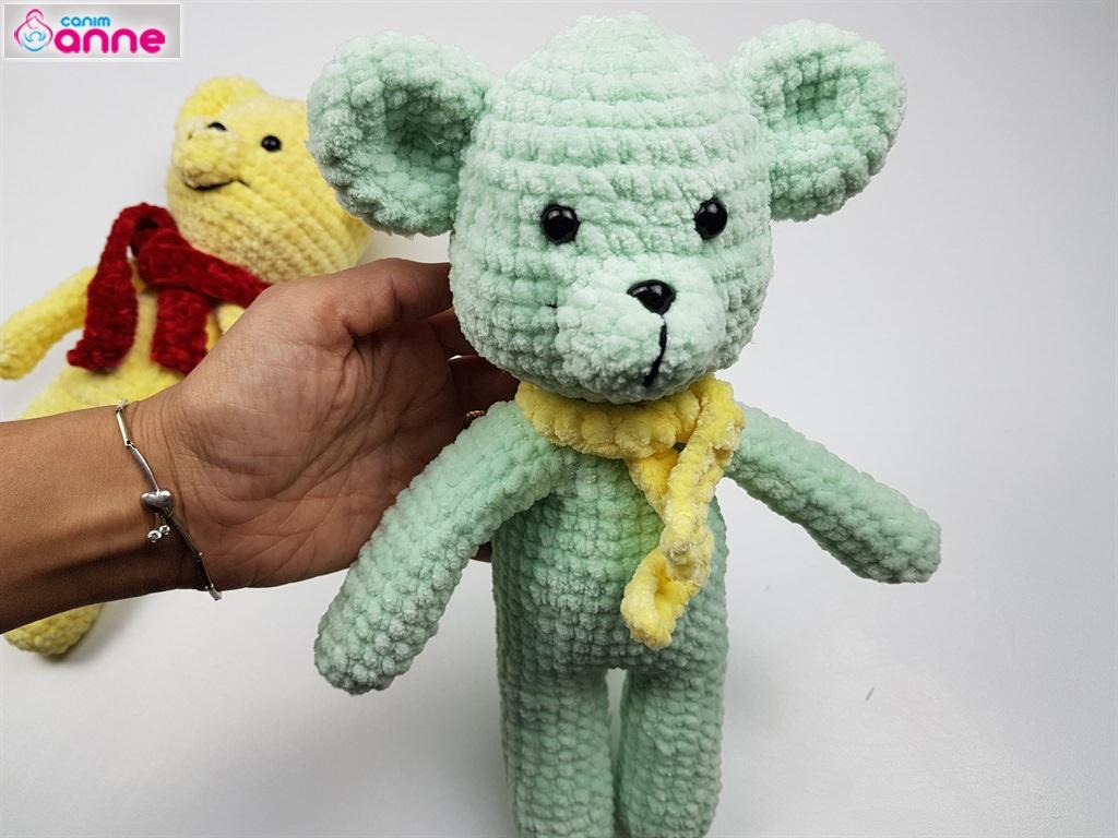 Amigurumi Bebek Yapımı - Oyuncak Bebek Yapımı Videolu Anlatım | 768x1024