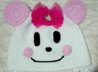 Bebek Yüzlü Şapka Yapımı – Bebek Şapkası