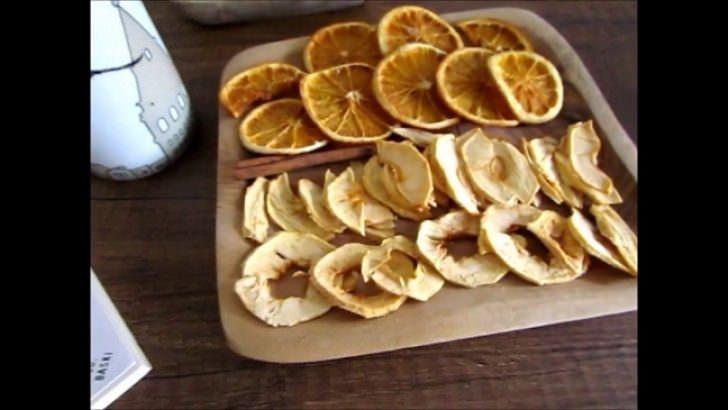 Portakal Kabuğu Fırında Nasıl Kurutulur?