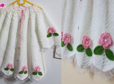 Kız bebek elbise yapımı – Prenses elbise yapımı