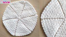 Yuvarlak lif yapımı – Kolay yuvarlak lif modeli