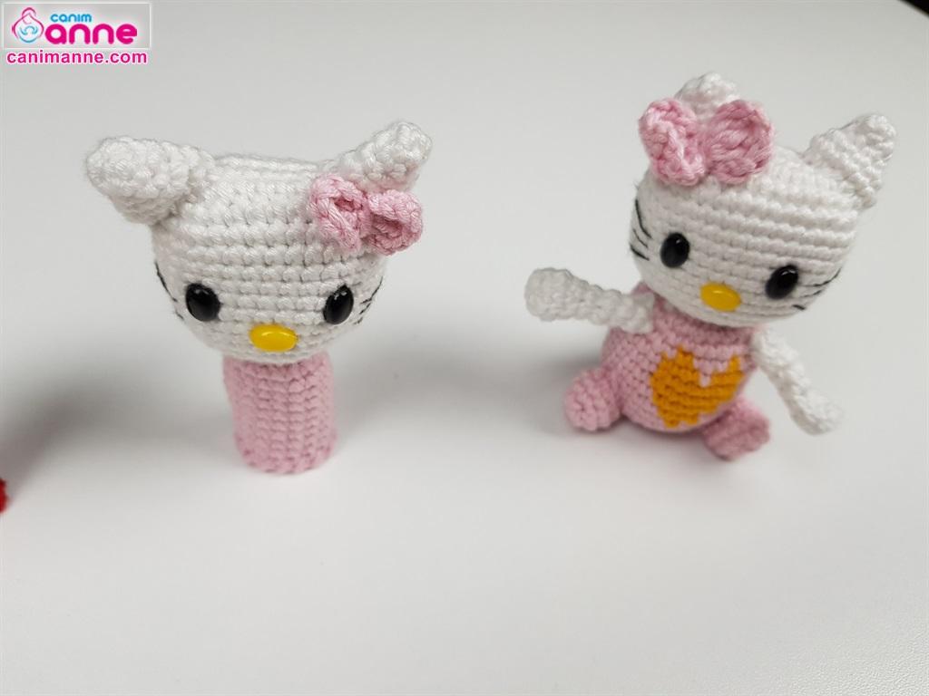 Amigurumi Hello Kitty Örgü Oyuncak Tarifi | Hello kitty, Yavru ... | 768x1024