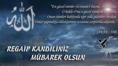 Regaib Kandili 2018, Regaib Kandili Mesajları, Regaib Kandili Duaları