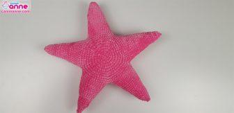 Amigurumi Yıldız Yastık Tarifi   163x336