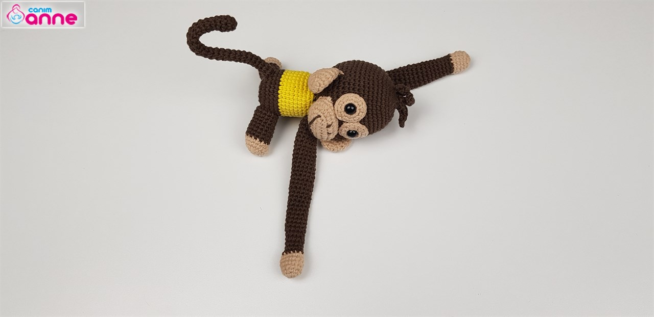 Amigurumi Maymun Yapılışı – elisiorgudukkani.com | 622x1280