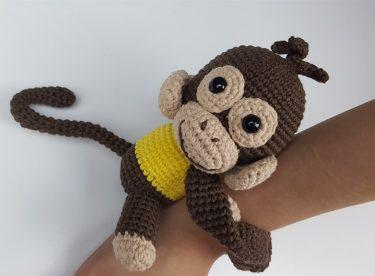 Amigurumi Maymun Yapılışı Anlatımlı Videolu