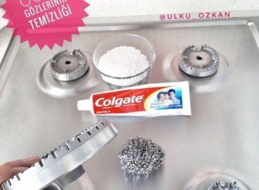 Diş Macunu İle Ocak Temizliği Nasıl Yapılır?