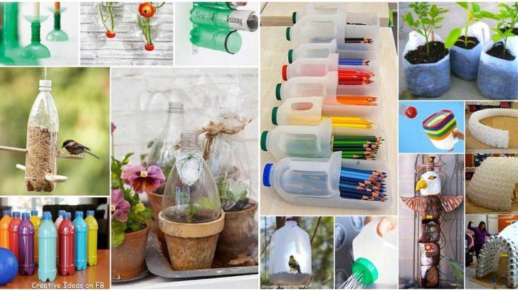 Plastik Şişeleri Değerlendirme Yöntemleri – Kendin Yap