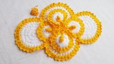 Süslü Bahar Çiçeği Lif Modeli Yapımı