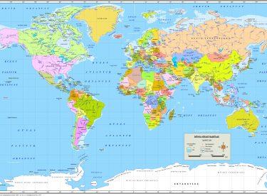 Dünya Haritası Canım Anne