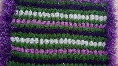 Fıstıklı lif yapımı, Lale bahçesi lif yapımı