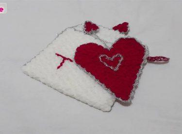 Kalpli davetiye lif modeli yapımı