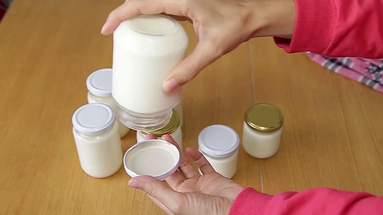 Kavanozda Taş Gibi Yoğurt Nasıl Yapılır ?