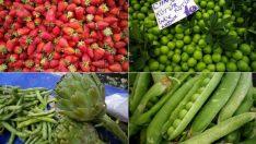 Mayıs Ayı Meyve ve Sebzeleri