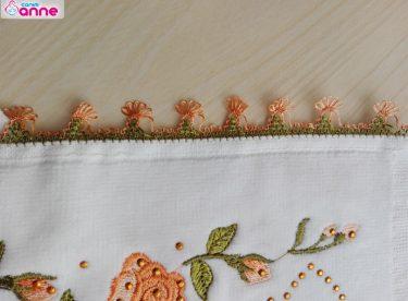Minik Muska Havlu Kenarı Yapımı