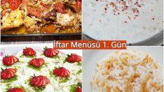 Ramazan İftar Menüsü 1. Gün