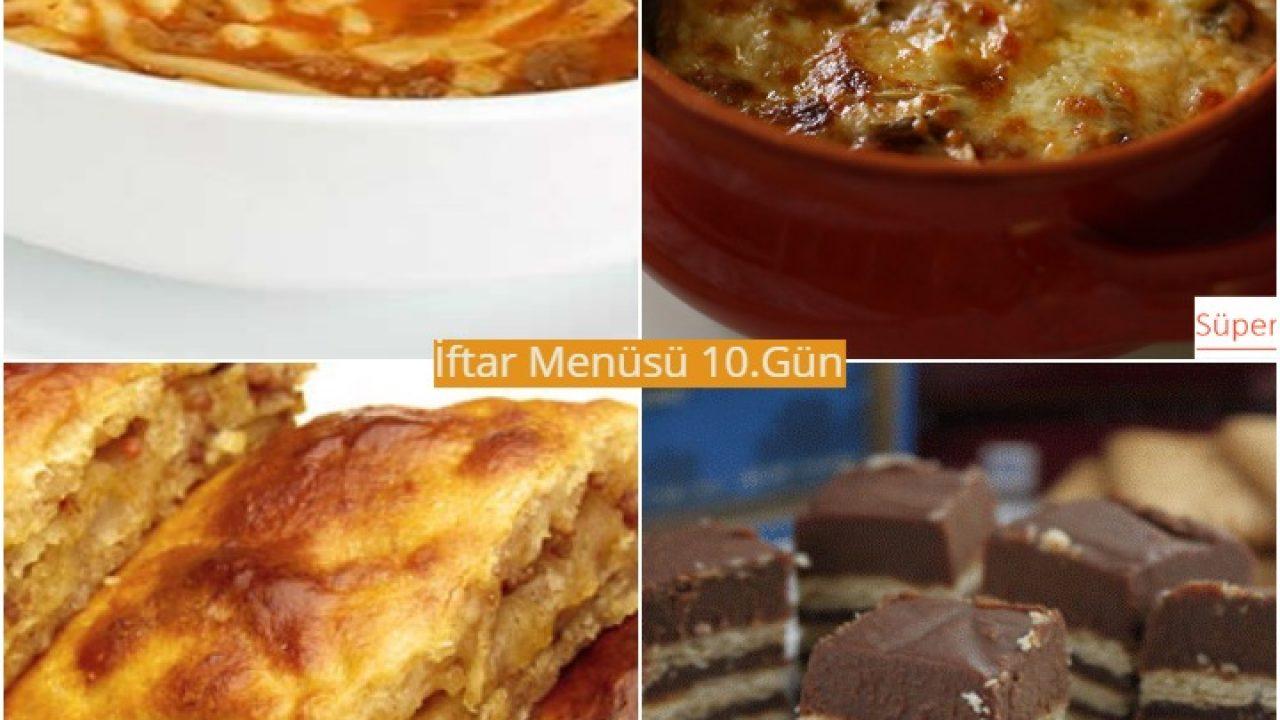 Ramazan İftar Menüsü 10. Gün