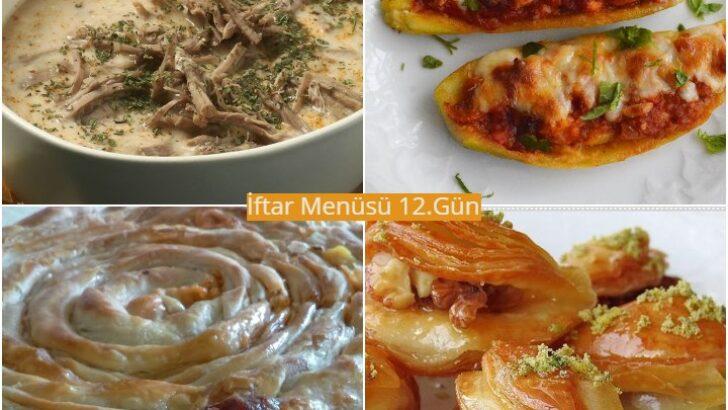 Ramazan İftar Menüsü 12. Gün