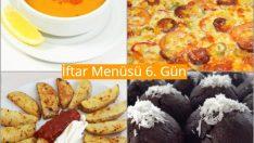 Ramazan İftar Menüsü 6. Gün