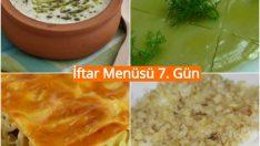 Ramazan İftar Menüsü 7. Gün