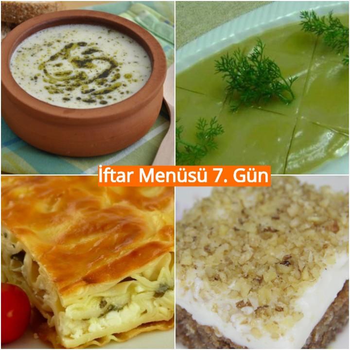 Ramazan İftar Menüsü 6.gün