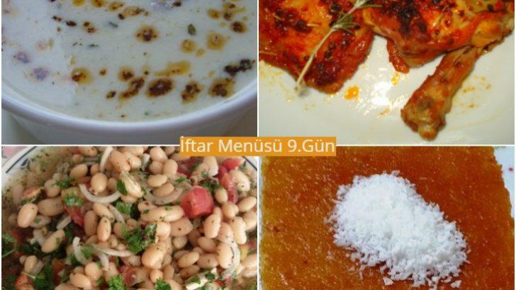 Ramazan İftar Menüsü 9. Gün